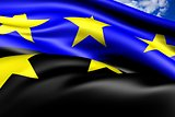 European Coal and Steel Community Flag