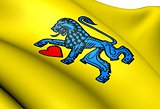 Flag of Celle, Germany. 
