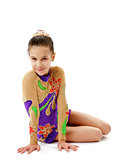 Young Girl Gymnast