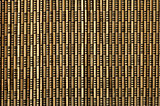 brown bamboo mat