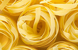 Background pasta tagliatelle