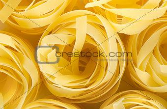 Background pasta tagliatelle