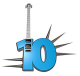 number ten guitar