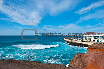 Stormy Sea at Playa Blanca