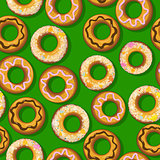 Fresh donut pattern