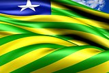 Flag of Piaui, Brazil.