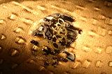 Gears In Sand