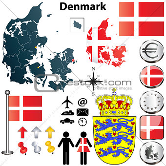 Denmark map