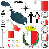 Malta map