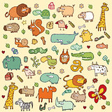 Cute Animals SET XL 