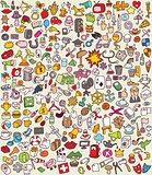 XXL Doodle Icons Set
