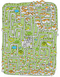 Urban Landscape Maze Game