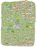 Urban Landscape Maze Game