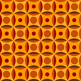 Orange geometrical background