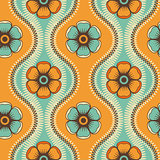 Fashion pattern with flowers
