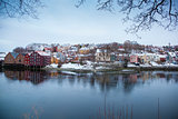 Trondheim cityscape Norway 