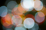 Multicolor Light Orb Background