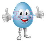 Cartoon Easter Egg Character