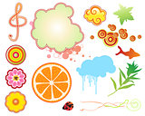 Summer design elements
