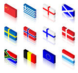 3D Flags