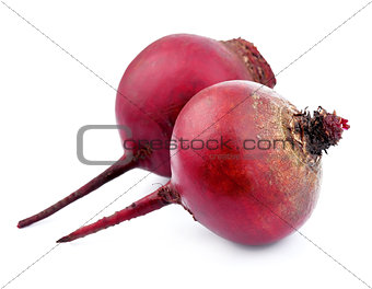 Two red beets
