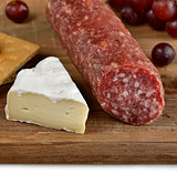 Brie Cheese And Salami