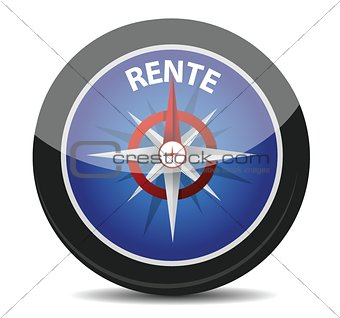 "german text ""Rente"", translate for pension"