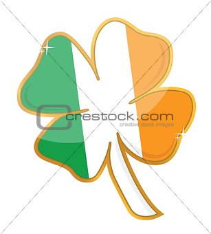 shamrock badge