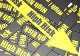 High risk banner