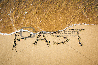 Word in the sand
