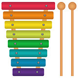 Toy Xylophone