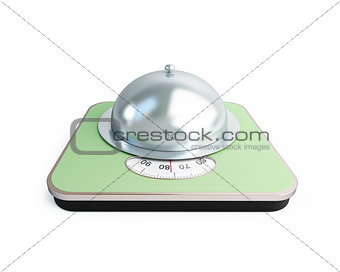 bathroom scale tray