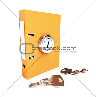 folder broken key the keyhole