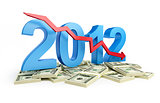 falling profits in 2012