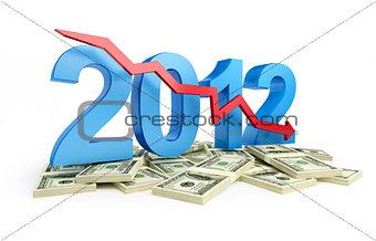 falling profits in 2012