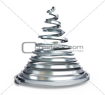 Christmas tree metal