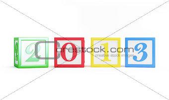 alphabet box 2013 new year's