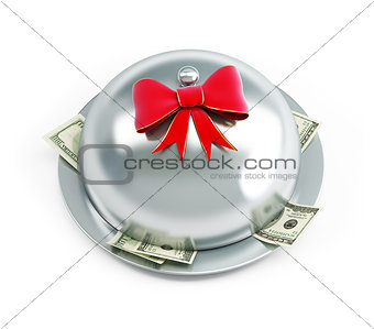 tray dollars gift