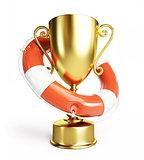 trophy cup Life Buoy