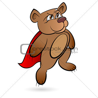 Bear Superhero