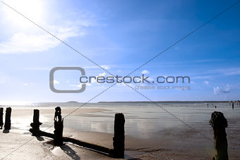 sunshine over the beach breakers