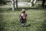 Little Girl at a Green Park