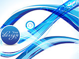 abstract blue web background