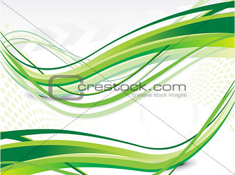 abstract green web background with grunge