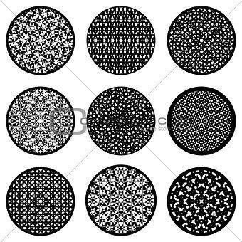 Circles design elements