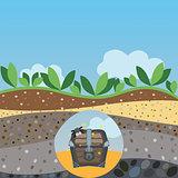 hidden treasures buried under layers of mud
