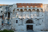 Golden Gate in Diocletian Palace in Split, Croatia
