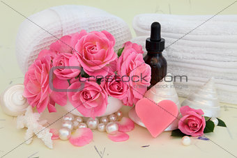 Rose Spa Accessories