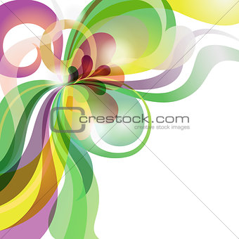Abstract love theme colourful festive background