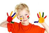 Colorful lad